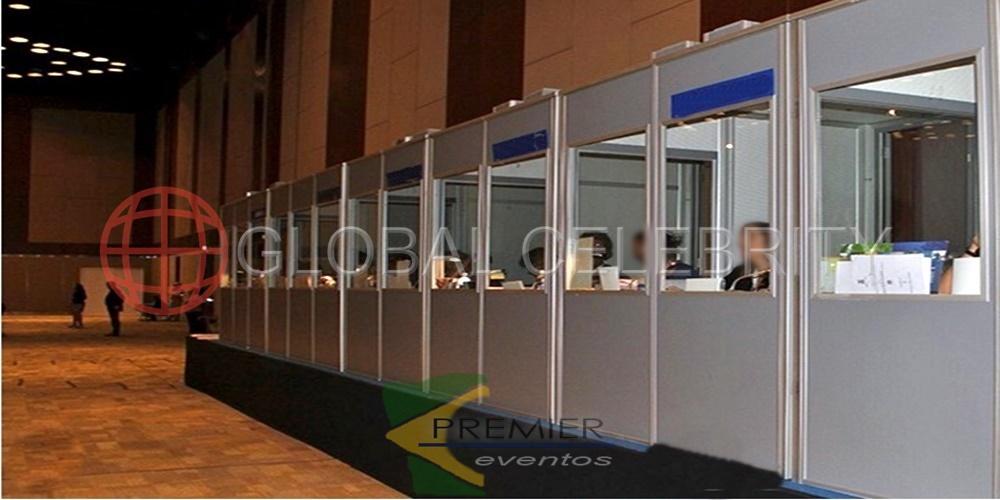 Locação e montagem de equipamentos e infraestrutura - Tradução simultânea Brasil